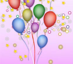 Happy Birthday Free Vector Background