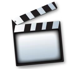 Vector Movie Clapper Board Template