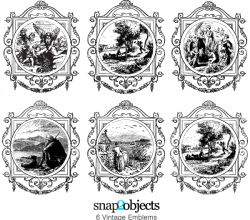 Free Vintage Emblem Vector Image