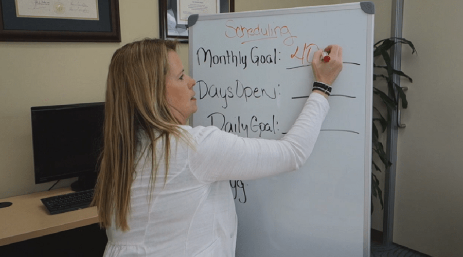 Monthly Goal and Scheduling