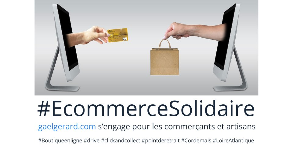#ecommercesolidaire, gaelgerard.com s'engage pour le commerce français