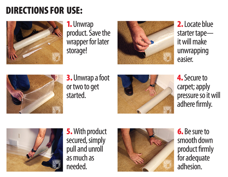 carpet-protection-film-how-to-use