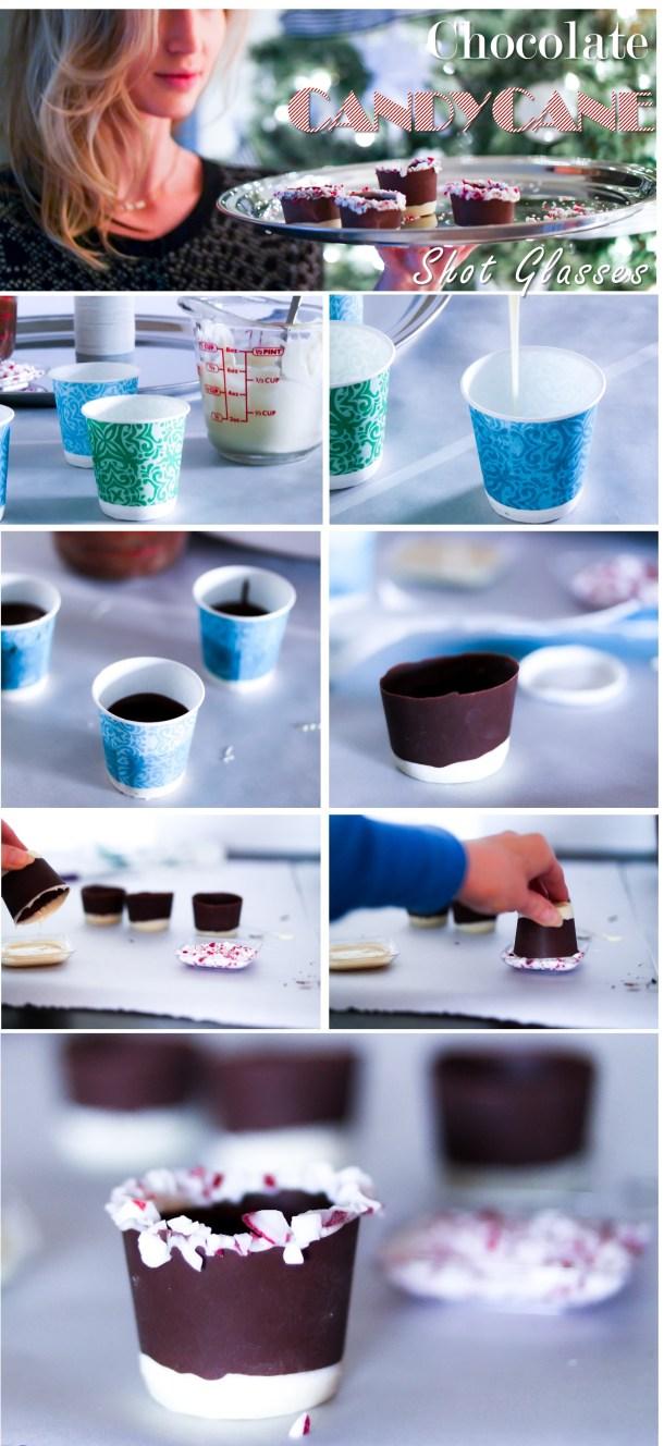 Chocolate Shot Glasses