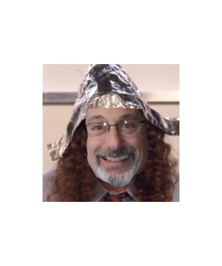 Iz tin foil head