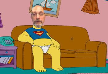 iz homer superman