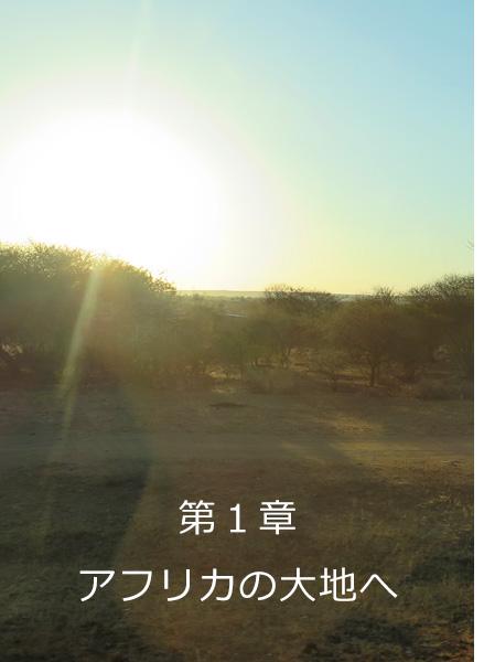 第1章アフリカの大地へ
