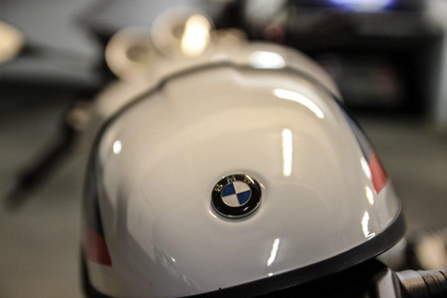 Heck der BMW R nineT Racer