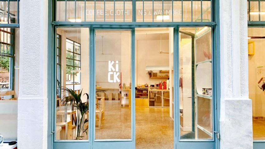 To kick είναι το νέο cool καφέ στην Κυψέλη που θα ήθελες στη γειτονιά σου