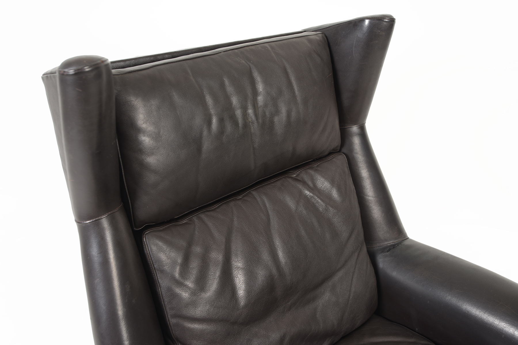 black leather swivel lounge chair wholesale wedding covers & more orlando fl danish modern highback