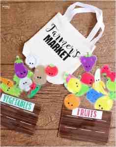 Farmer's Market Busy Bag Idea