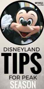 Disneyland Crowd Calendars & How to Enjoy Disneyland During Peak Season