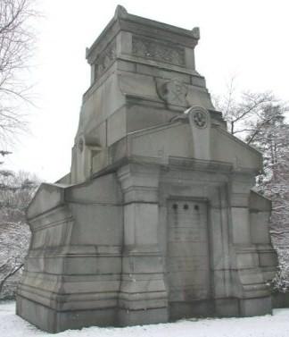Freeland Mausoleum, Winter 2004