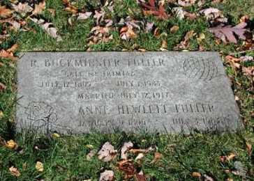 R. Buckminster Fuller grave