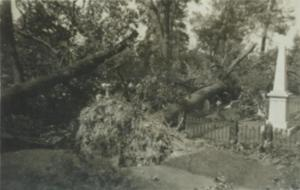 Damage from the Hurricane of 1938