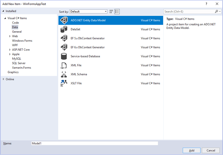 Entity Framework AND MySQL