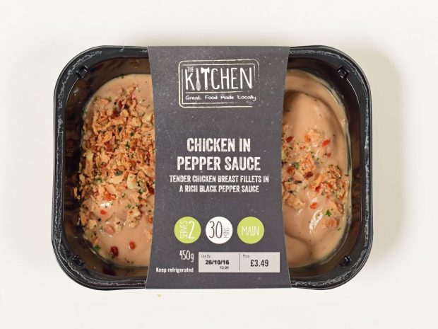 The Kitchen Chicken in Pepper Sauce