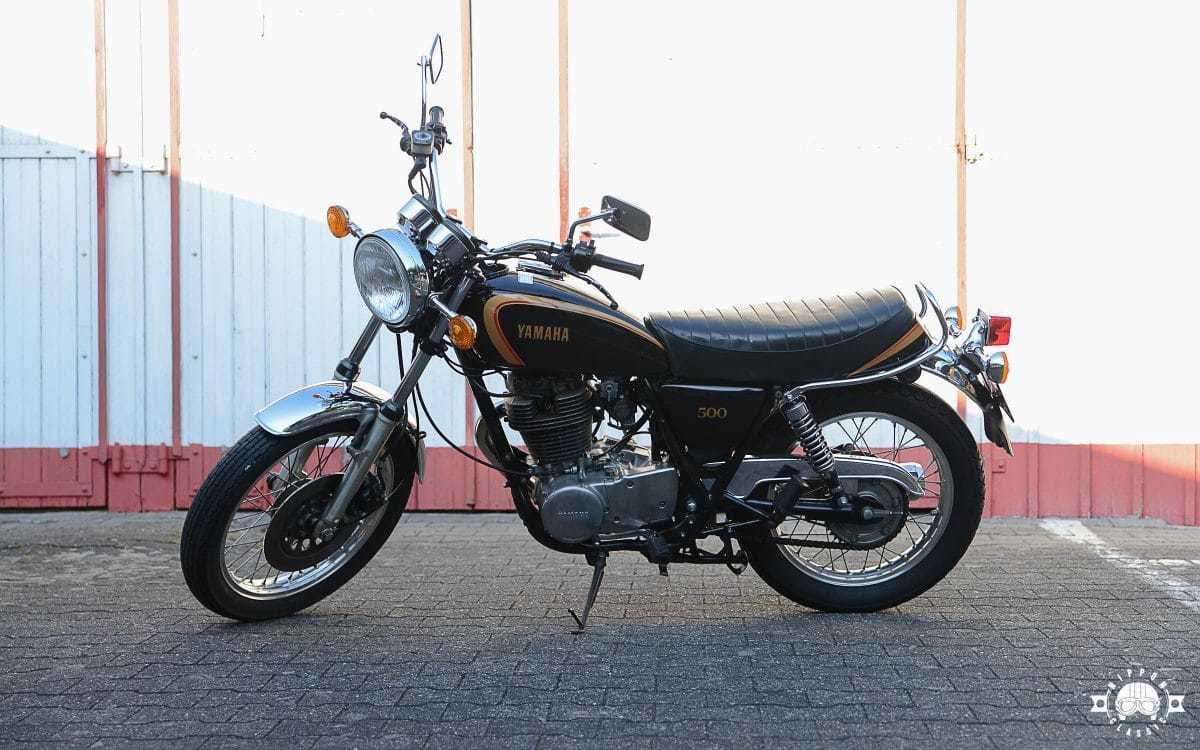 Yamaha SR 500 – zurück zur Urform des Motorradfahrens