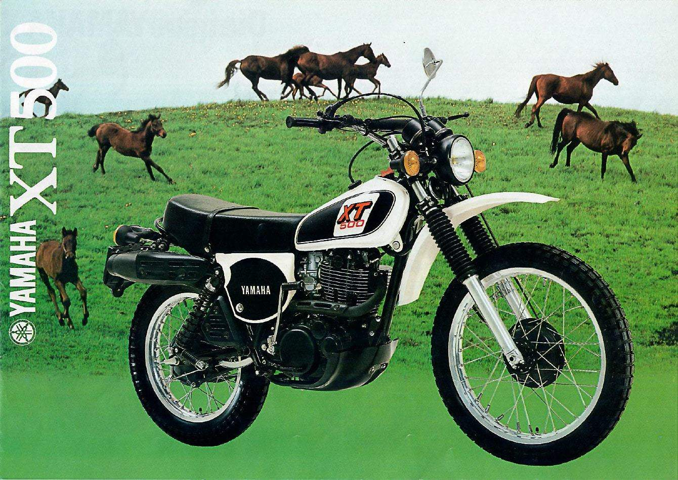 Yamaha XT 500 Prospekt 1979 - Das Original