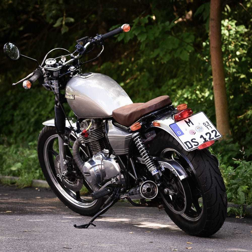 Kawasaki Z 440 Umbau – Phönix aus der Asche