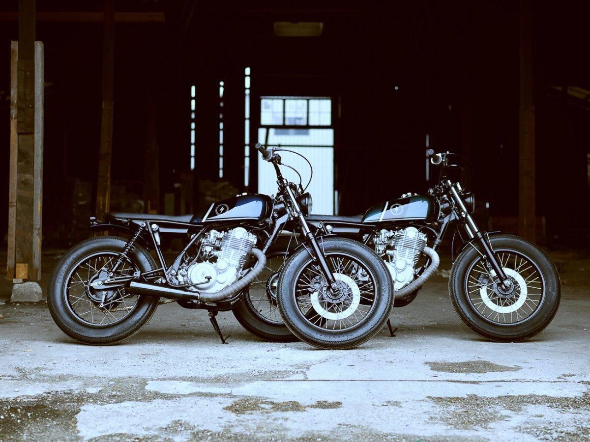 Yamaha SR 500 Scrambler - die Zwillinge KRAD XX2 und XX3