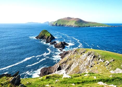 Paysage de la péninsule de Dingle, vacances en Irlande avec une agence Nirvatravel