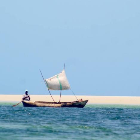 Plage de rêve sur l'ile de Funzi, vacances plage à Mombasa au Kenya avec Nirvatravel