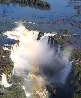 Le Nord et les chutes d'Iguazu