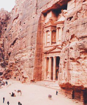 Site de Petra, Wadi Rum, Mer Morte