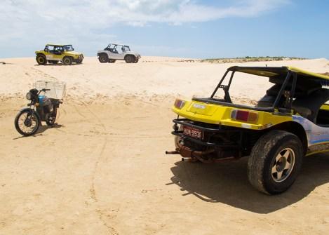 Buggy dans les dunes du Nordeste, voyage aventure au Brésil avec une agence locale Nirvatravel