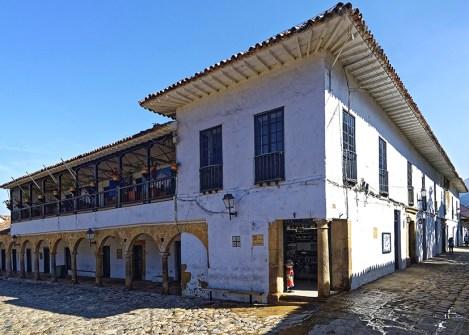 Maison coloniale de Villa de Leyva, partir en Colombie avec une agence Nirvatravel