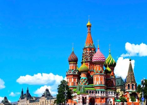 Cathédrale de Basile le Bienheureux à Moscou, voyage en Russie avec une agence Nirvatravel