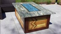 DIY Patio Fire Pit Table - Homeowner GC