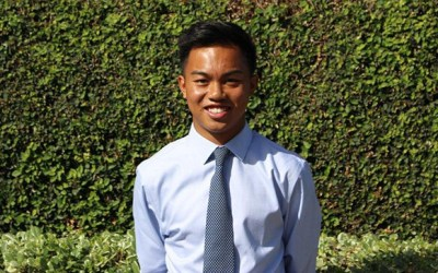 SCGA Junior Scholar Knows the Benefits of Giving Back