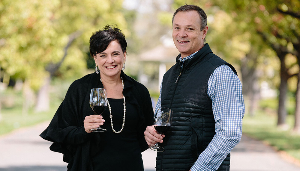 St supery CEO emma swain and winemaker michael scholz