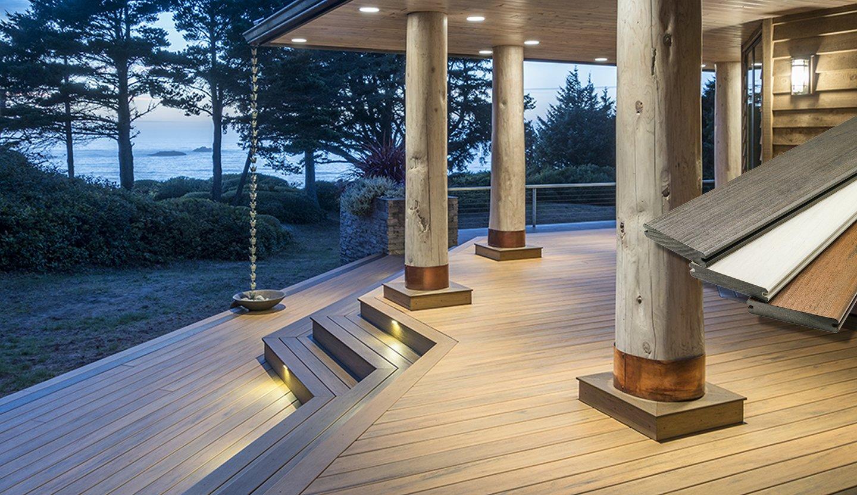 Wpc-Dielen, Geländer, Befestigungsprodukte Und Beleuchtung