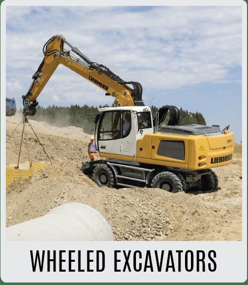 Liebherr Wheeled Excavators