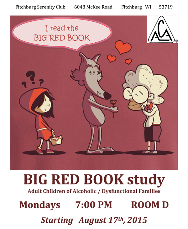 ACA Big Red Book Study flyer