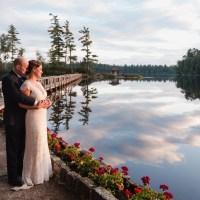 White Pine Camp Fall ADK Wedding