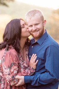 Glowing Engagement Photograph in New York