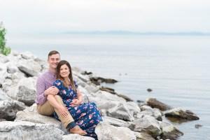 Couples Lake Portrait