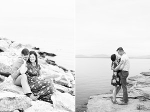 Black and White Engagement Inspirations