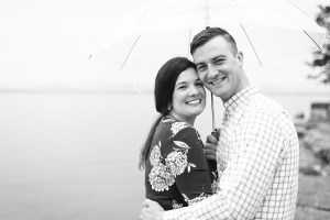 Lake Champlain Engagement session photographed by Julia Rebecca Photography