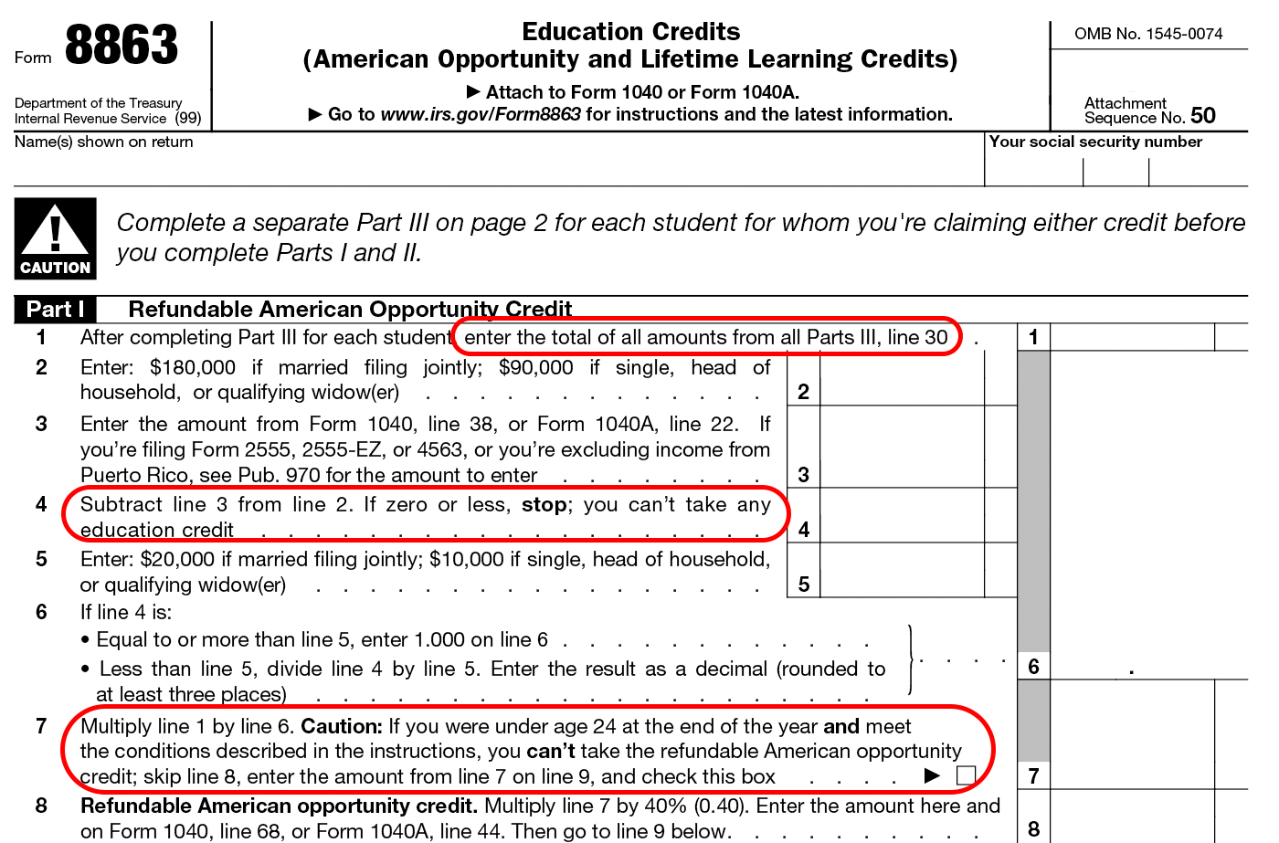 Form Instructions Amp Information On The Education