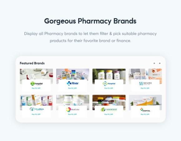 Medilazar Pharmacy WooCommerce WordPress Theme - Pharmacy Store with Brands Showcase
