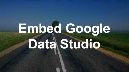 embed google data studio