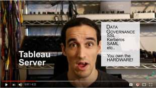 internal security features are covered in our youtube video on tableau pricing, data governance, ssl, kerberos, saml