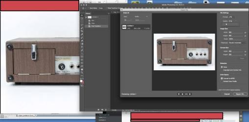 optimize image photo shop explanation of large file to optimized file.