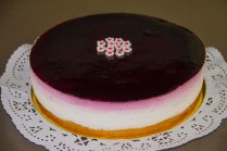 tarta de queso tres colores 2