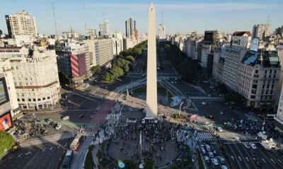 Marcha en el Obelisco