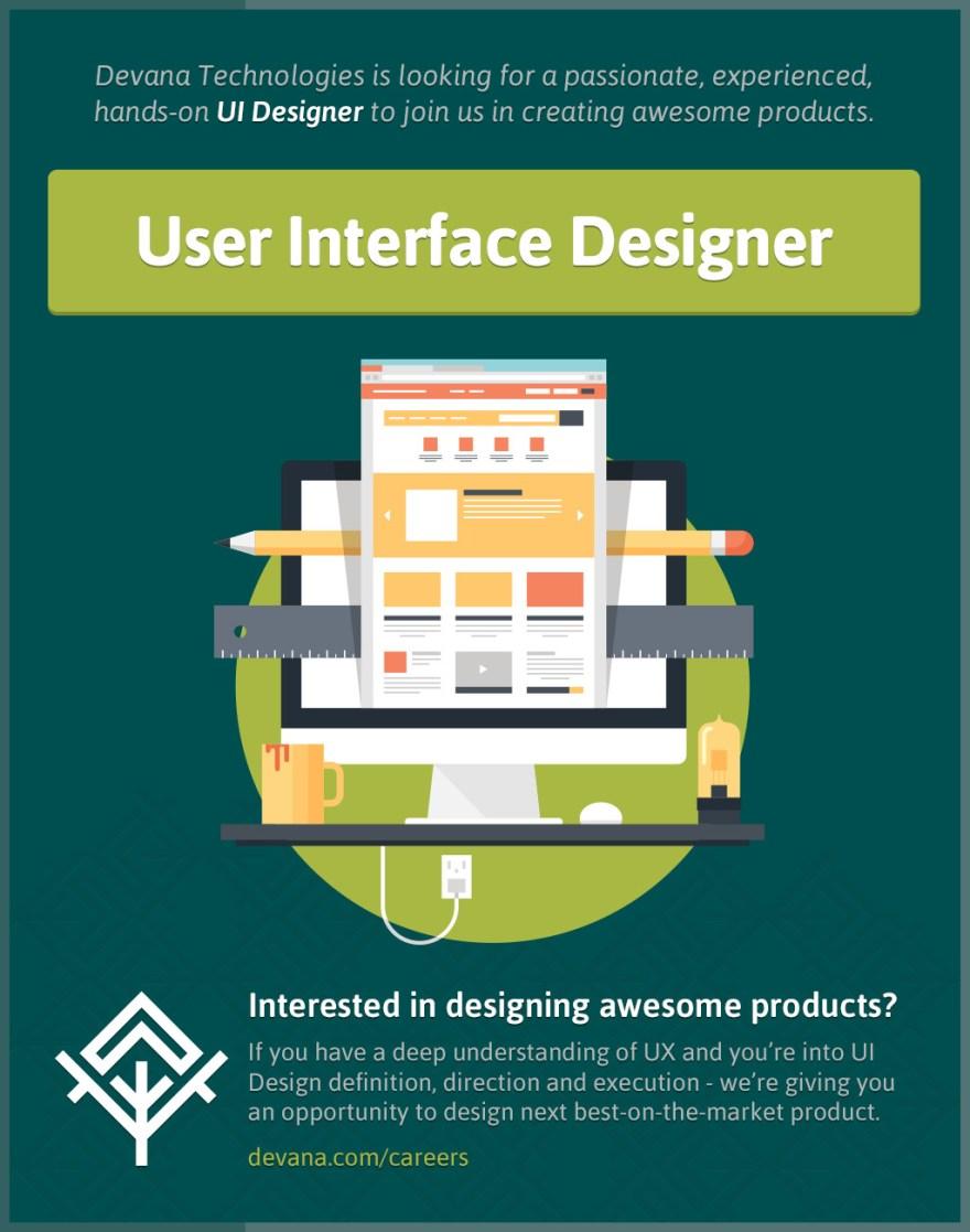 User Interface Designer at Devana Technologies